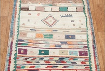 Tribal Rugs / Whether it's something about the design, the motifs, the colours, the eccentricities, or the weavers who made them - tribal carpets and kilims fascinate us!