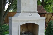 Outdoor Fireplace Inspiration / by Valor Fireplaces