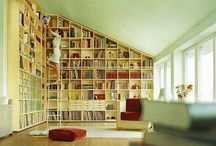 Built-in Book Shelves