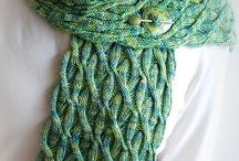 Sjaals breien