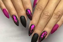 Nails Stiletto-SZTYLETY....