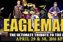 EAGLEMANIA, the Ultimate Eagles Tribute Band / Eaglemania, the Ultimate Eagles tribute band, at The Newton Theatre 4/29 & 4/30 2016. EagleMania performs the songs of the Eagles, Don Henley, Glen Frey, and Joe Walsh, including monster hits like Hotel California, Desperado, The Long Run, Take it Easy, Best of My Love, Tequila Sunrise, One of These Nights, Boys of Summer, Heartache Tonight, Lying Eyes, Life's Been Good and many more from one of the greatest rock bands of all time!