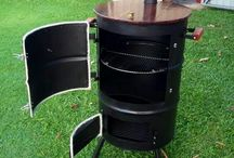 ドラム缶 SMORKER