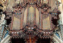 Orgels / Kerkorgels, ook waar ik op gespeeld heb