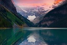 Lakes, rivers, mountains