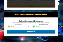 Free diamionds and Coins for Rival Gears Racing