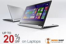 Laptops / Buy laptops from popular brands - Acer, HP, Dell, Lenovo and so on at lowest price.