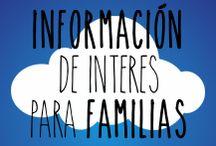 Información de interés para familias