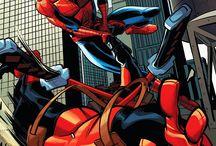 Spider man, deadpool