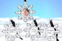 Winter Wedding Favors / www.elegantgiftgallery.com