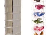 Dica organizada: bolsas e sapatos