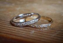 White gold weddings