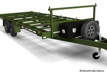6m FLAT TOP TRAILER PLANS