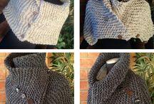 Knitting Scarf & Cowl