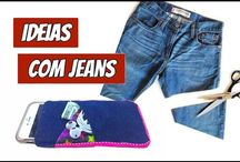 artesanato com jeans
