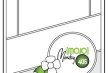 Mojo Monday / Kaart patronen