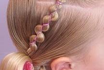 Love Little Girl Hair / by Adrienne Hansen