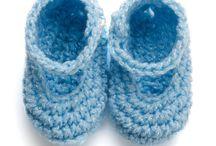 Knitting & crochet - Baby Booties