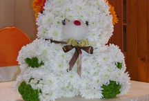lumanari botez / lumanari botez cu flori vesele