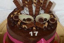 torty čokoládvé