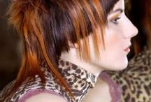 Avant-garde hairstyles / .