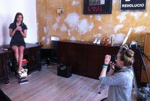 Making of: F/S 2014 / Backstage Bilder von unserem Shooting der Sommer-Kollektion 2014