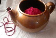Miska na pletení/Yarn bowl