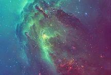 Galáxias e nebulosas