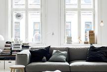 Interior design and architecture / Home interiors, décor and architecture.
