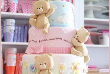 Kindertaart / Taart met beren