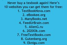 Free text book sites and other good sites