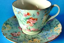 Tea for Two...and cups / I don't personally drink tea...or even like tea really...