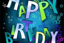 Happy Birthday Graphics / Photos to use on the web for Birthday wishes... / by Mary Ann Powell