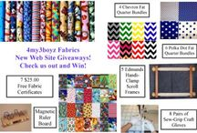 The All New 4my3boyz Fabrics! / Our new web site is up and running!