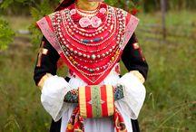 Национальные костюмы/Folk costumes