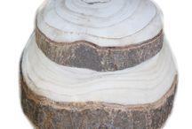 Wooden urn Forest / by Reinie van Boven