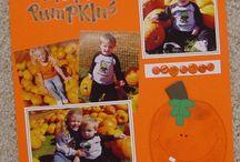 Scrapbook Layout Paper Piecing / scrapbook paper piecing layout pieces for sale #scrapbook #layouts ideas for #halloween Halloween #baby #babysfirst #first #piecing #paper