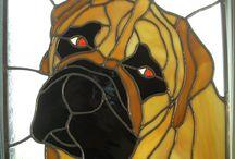 Hunde Bull Mastiff