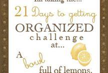Organization  / by Mallory Phillips