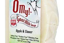 O My!™ Goat Milk Soaps - 6oz / O My!™ starts with a base ingredient of wholesome goat's milk directly from the Omniio happy goat farm located in NC and proudly manufactured in the USA.  After 10 years of formulation on the farm table, the O My!™ recipe was born, adding 3 high quality oils, 2 enriched butters PLUS essential oils or phthalate-free fragrance oils to create a wonder soap that is free from Parabens, Phosphates, Sulfates, Phthalates, Palm Oil and Gluten.