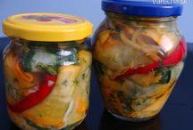 konzervovanie / pickles homemade