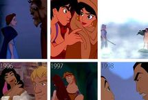 Disney over the years