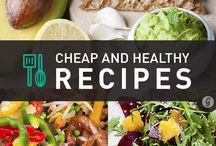 Budget Friendly Recipes and Ideas / Healthy eating can be cheap! Here are some helpful tips, advice and recipes to help you save money without sacrificing delicious taste.