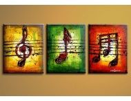 Music - Oil Painting