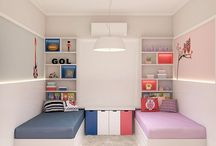 Twins rooms ideas