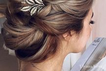 Hair Inspiration / Find inspiration for hair styles and updo's for everyday, casual, formal and party.