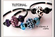 šité šperky - návody / Šité šperky z rocailu