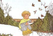 детские иллюстрации
