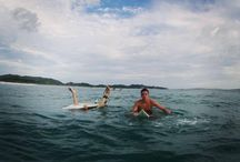 Surfing / Surfing is one of Sam Chandler of Rumson, New Jersey's favorite hobbies.