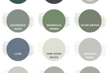 colours. / Our favorite color schemes for the home!